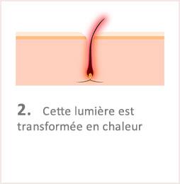 Lumiere Pulsee Cocoon Beaute Bien Etre Institut De Beaute Soins Du Corps Illustation Fonctionnement Etape 2